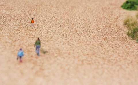 dune climbing (horizontal tilt)
